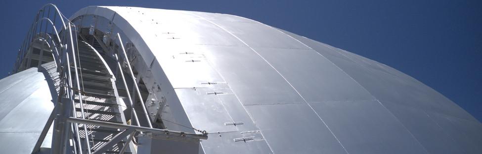 Gran Telescopio Canaras. Cubierta
