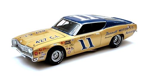Mario Andretti 1968 Mercury Cyclone University of Racing 1/24
