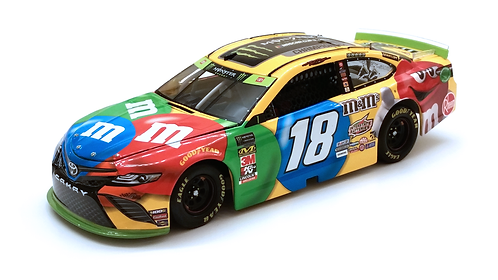 Kyle Busch 2019 M&M's Monster Energy Cup Champion 1/24