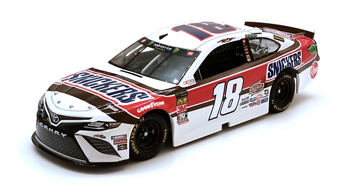 Kyle Busch 2019 Snickers Darlington Throwback 1/24