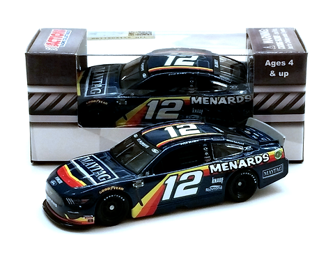 Ryan Blaney 2020 Menards Darlington Throwback 1/64