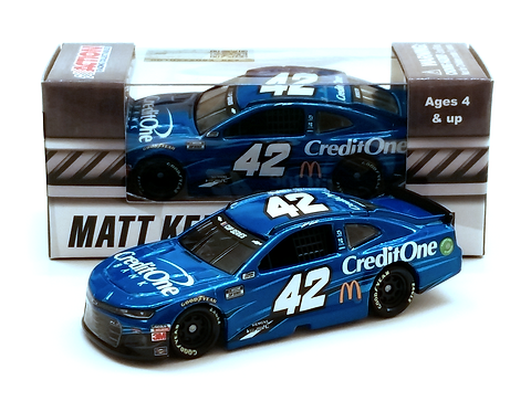 Matt Kenseth 2020 Credit One Bank 1/64