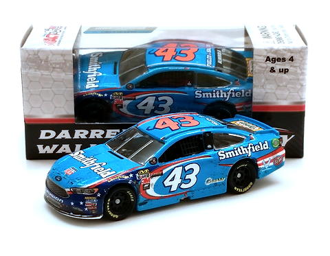 Bubba Wallace 2017 Smithfield First Career Cup Start 1/64