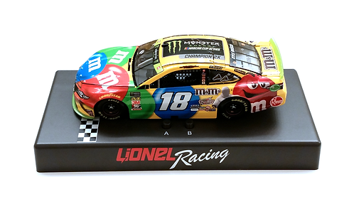 Kyle Busch 2019 M&M's Monster Energy Cup Champion Audio Base 1/24