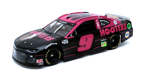 """Chase Elliott 2020 Hooters """"Give a Hoot"""" Pink 1/24"""