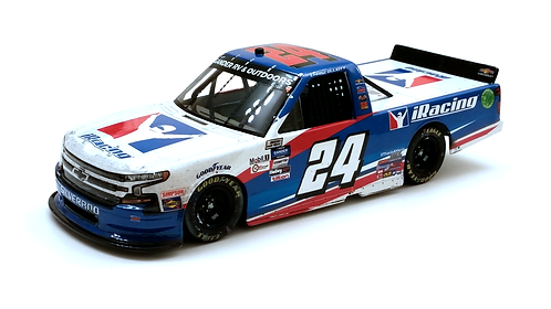 Chase Elliott 2020 iRacing Charlotte Truck Win Galaxy Color 1/24