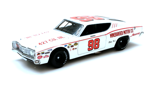 LeeRoy Yarbrough 1969 Mercury Cyclone University of Racing 1/24