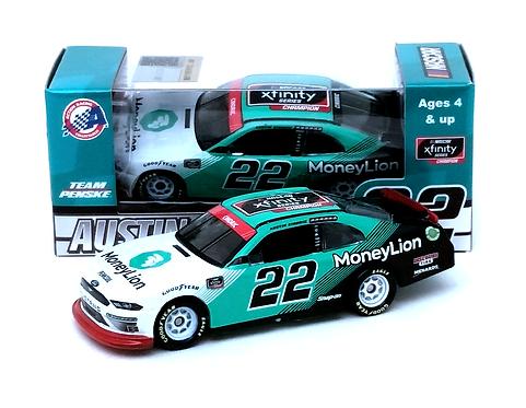Austin Cindric 2020 Money Lion Xfinity Series Champion 1/64