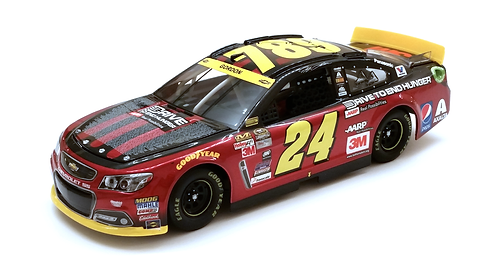 Jeff Gordon 2015 AARP Ride With Jeff Iron Man 1/24