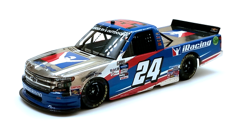 Chase Elliott 2020 iRacing Charlotte Truck Win Color Chrome 1/24