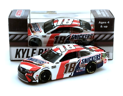 Kyle Busch 2020 Snickers White 1/64