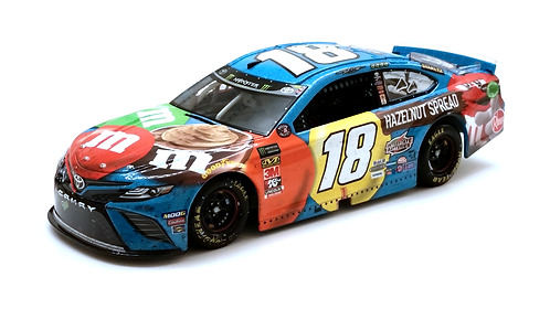 Kyle Busch 2019 M&M's Hazelnut Spread Pocono Win 1/24