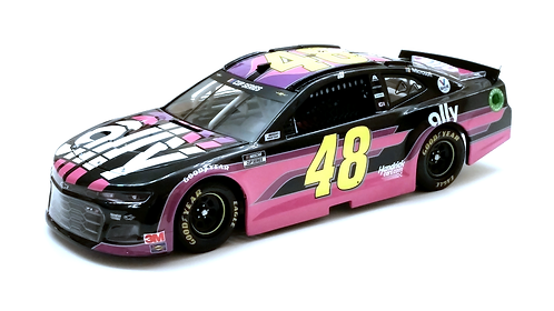 """Jimmie Johnson 2020 Ally Danny """"The Count"""" Koker 1/24"""