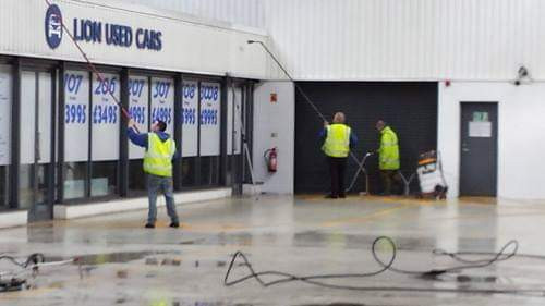Commercial, hard floor cleaning in South West London.
