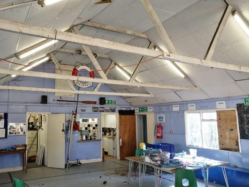 Work Started on Hut Renovation