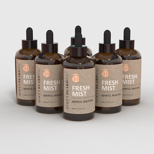 6 bottle ( REFILL ) Beard Mist Subscription.
