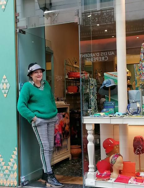 boutique de chapeaux paris