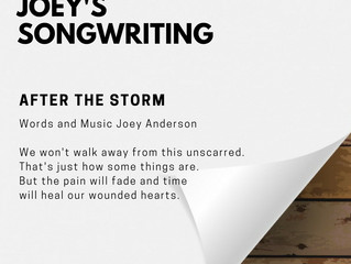 LYRIC SPOTLIGHT: After The Storm by Joey Anderson
