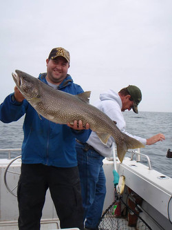 Mike's Monster Lake Trout