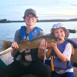 Boys Big Walleye