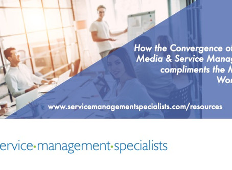 Social Media & Service Management - How they compliment each other to rock the modern workplace.