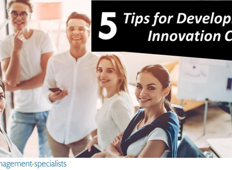 5 Tips for Developing an Innovation Culture