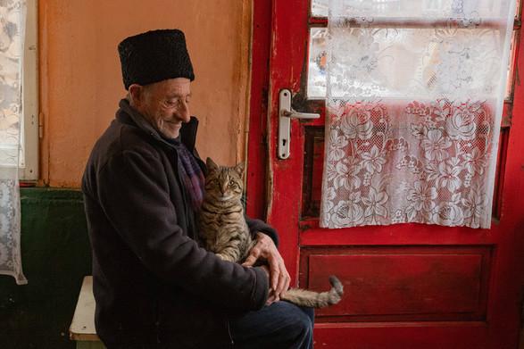 Aurel and His Cat