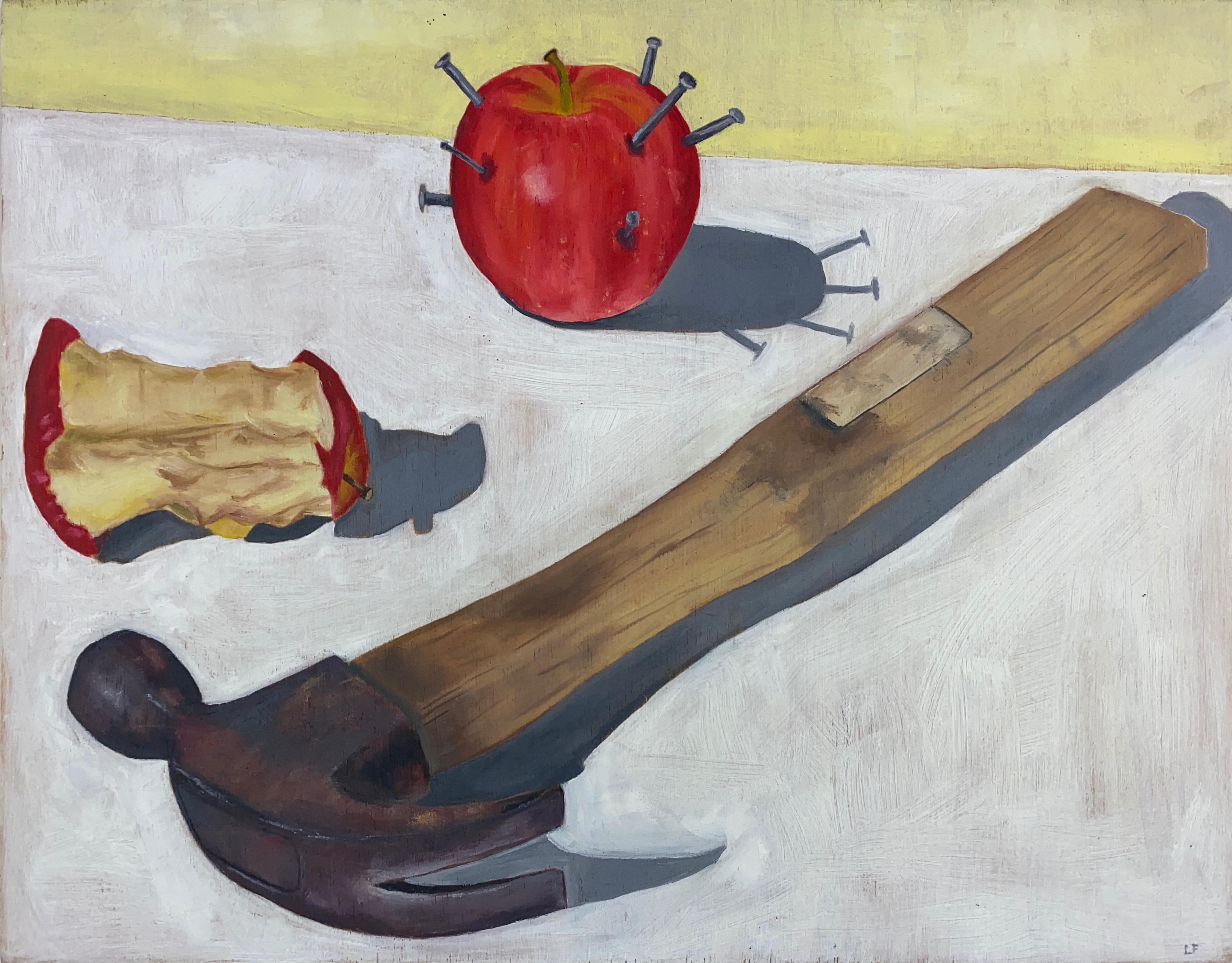 Hammer, Apple, Nails.