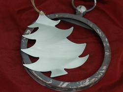 / Sapin de Noël en zinc