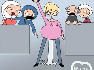 Vief Zwanger: alles over weeën