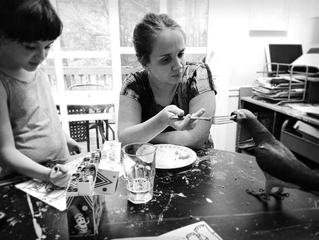 Own your mess. Celebrate your mess: Ramblings of a Working Artist & Mom