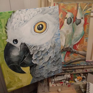 #Love #Painting #Birds It's easily becom