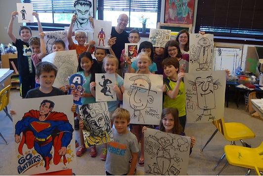 cartoon class at pavilion.jpg