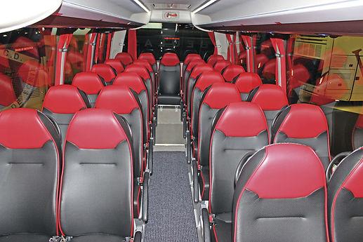 Tour Bus Seat Repairs Toronto, Canada
