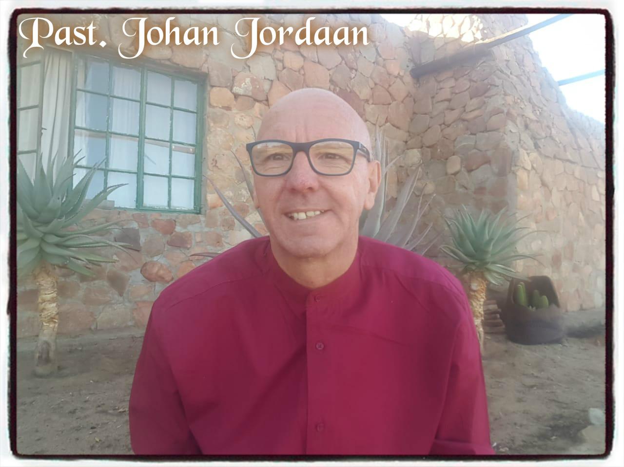 Past. Johan Jordaan