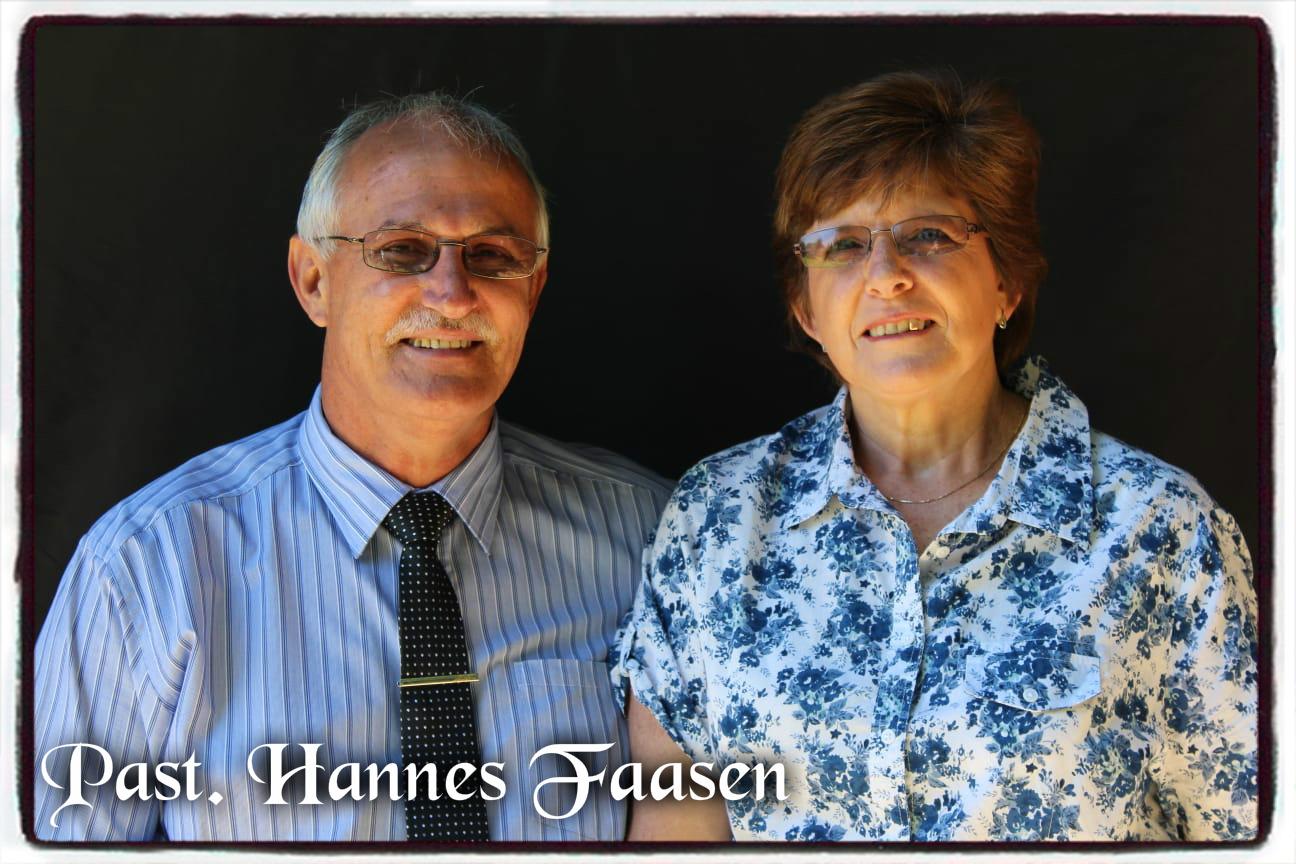Past. Hannes Faasen