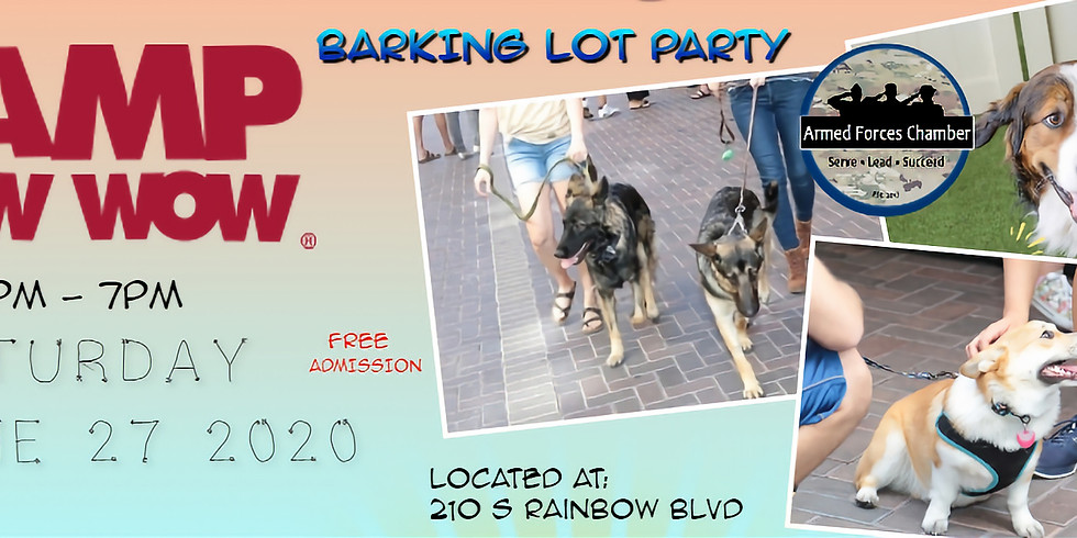 CAMP BOW WOW BARKing Lot PAWty