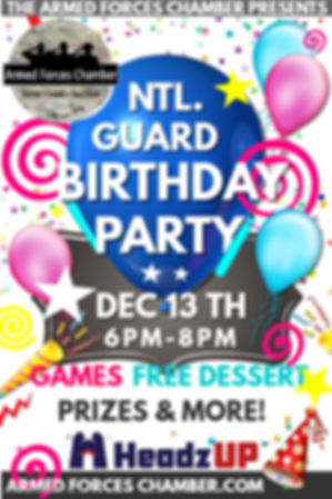 Ntl Guard birthday party - Made with Pos