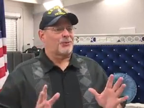 Air Force veteran receives furniture from Armed Forces Chamber
