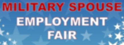 Military Spouse Employment Fair header.j