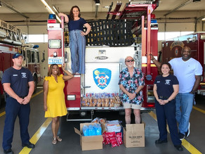City of Mesquite receives N95 respirators and surgical gowns donation from Armed Forces Chamber