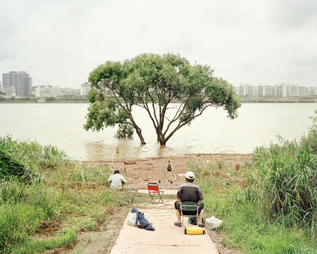 Fishing, Seoul, July 2013