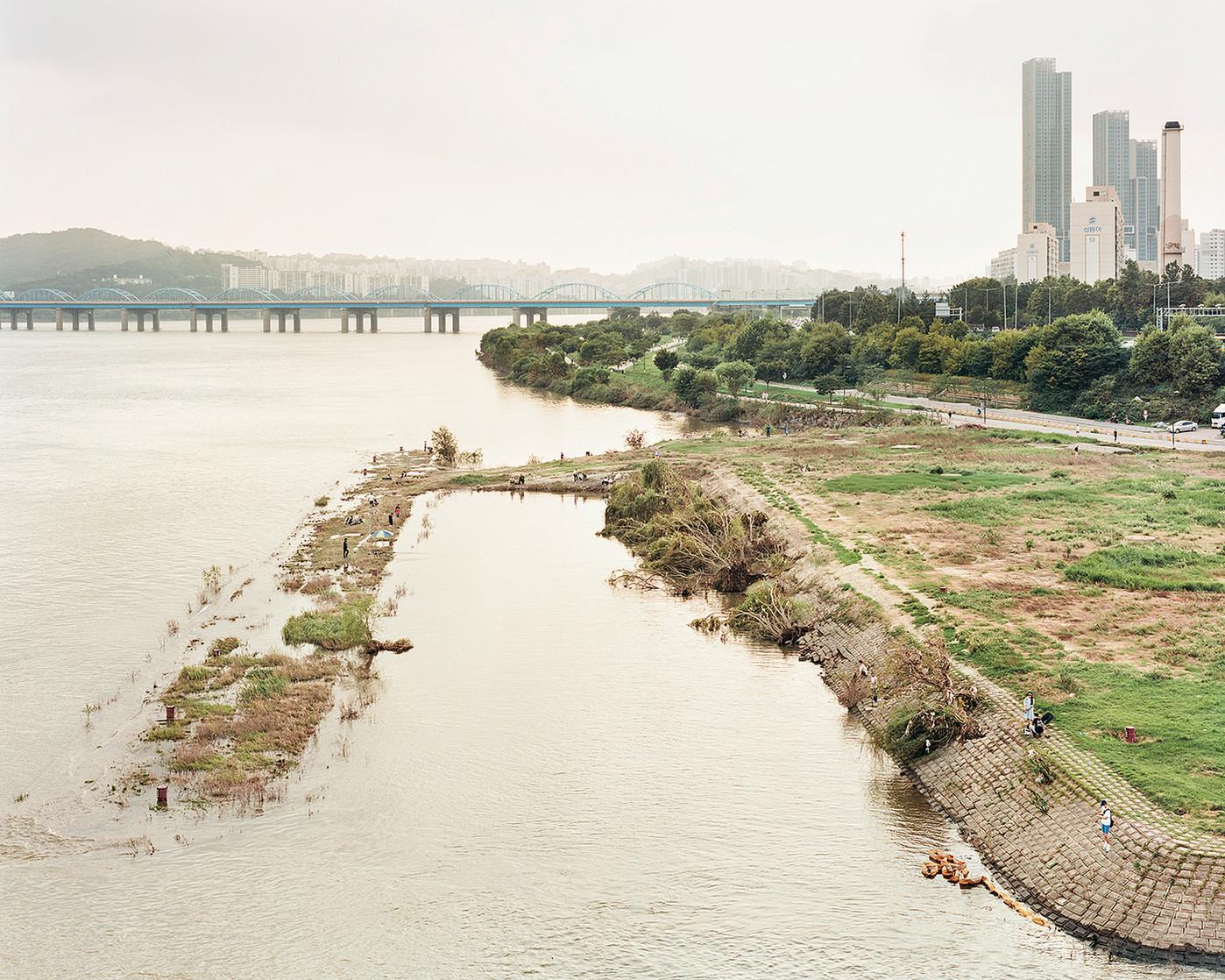 Fishing Area, Seoul, August 2020