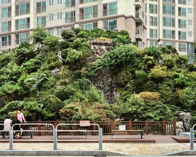 Mt. Buaak, Seoul, August 2017