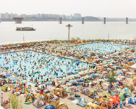 Swimming Pool, Seoul, August 2016