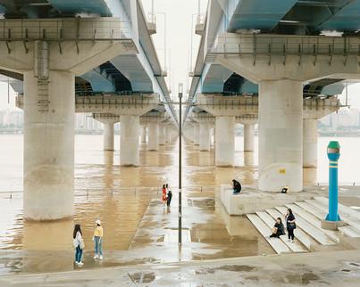Mapo Bridge, Seoul, August 2018