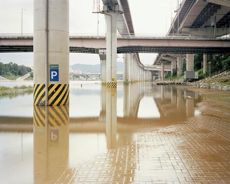 Public Parking Lot, Seoul, July 2013