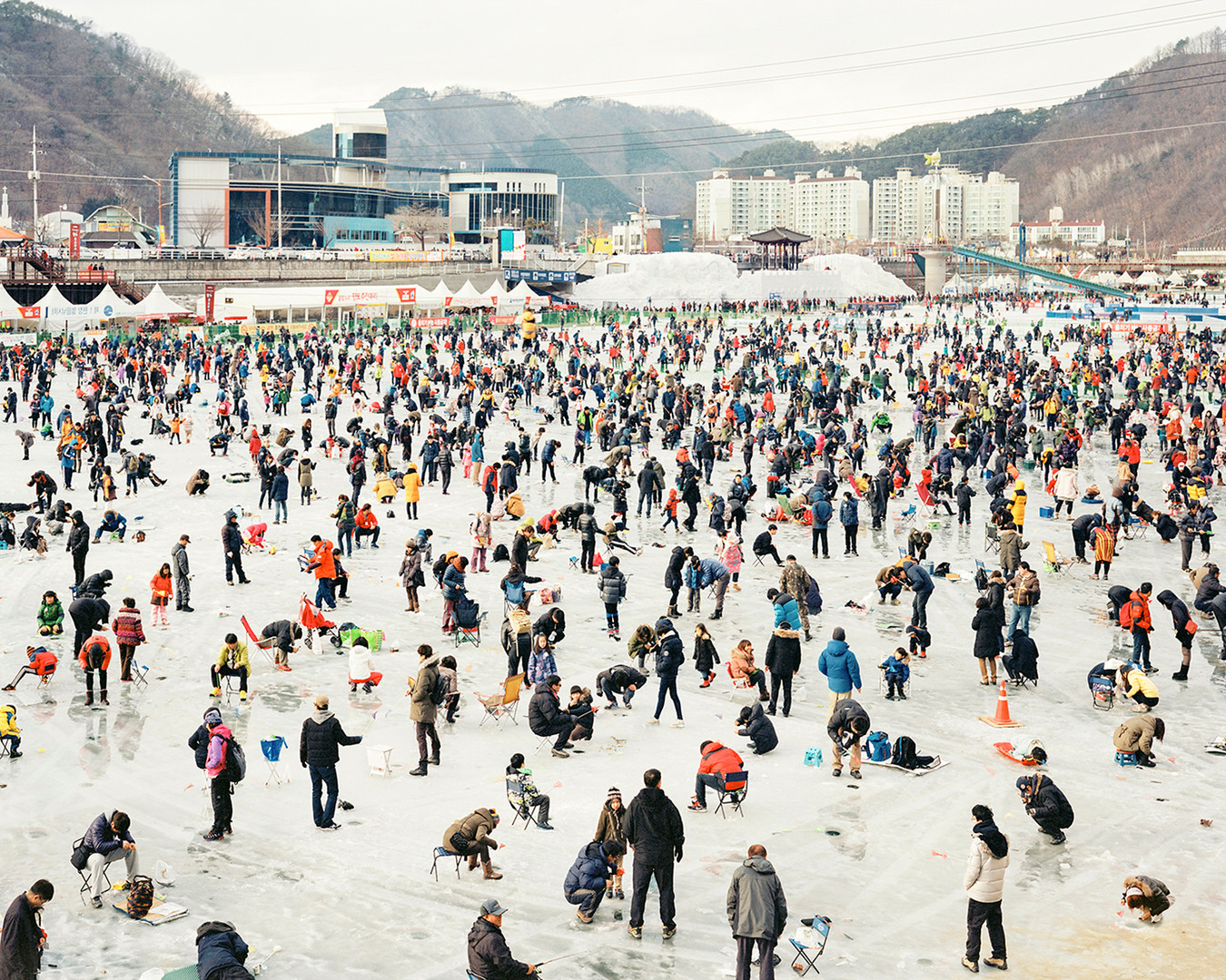 Ice Fishing, Hwacheon, January 2014