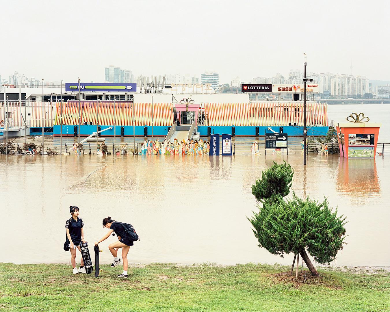 Cruise Terminal, Seoul, August 2020