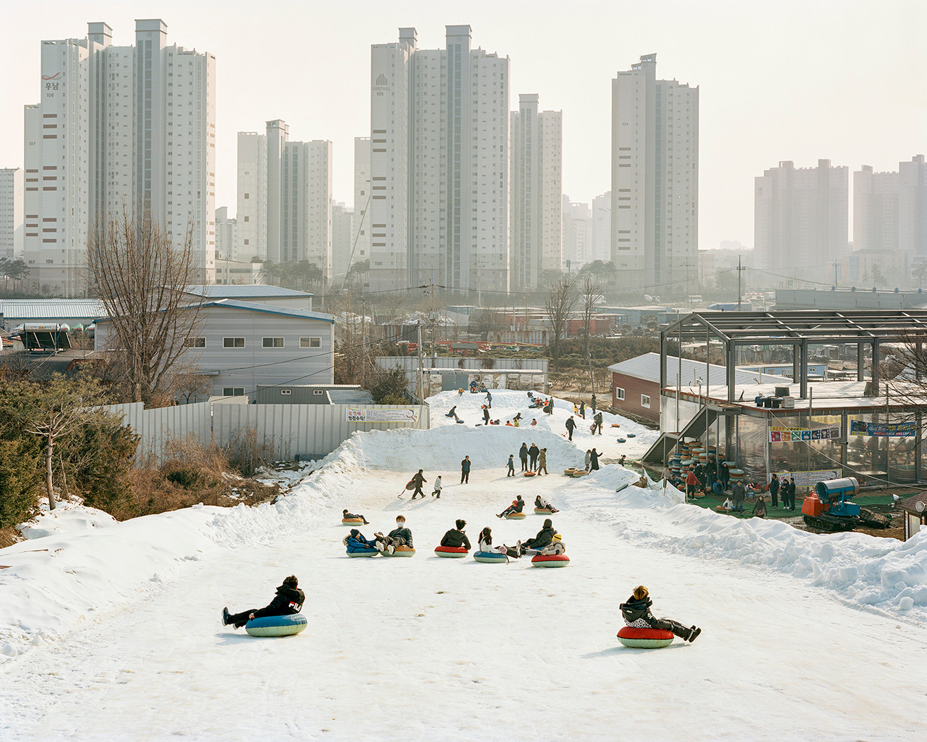Sledding Slope, Goyang, January 2019
